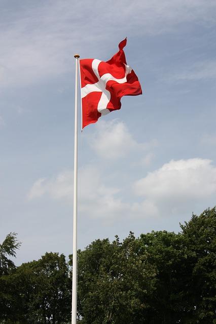 Dannebrog, dansk flag, flag