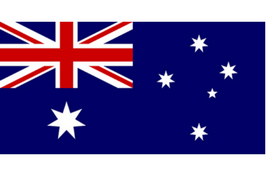 Australien flag, symboler, nationalflag