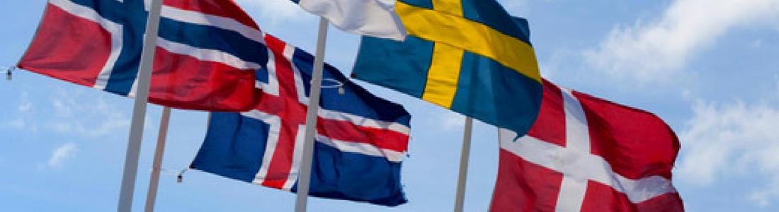 Nationalflag. Nordiske flag